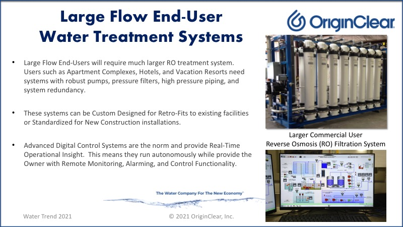 RO Large-flow end-user