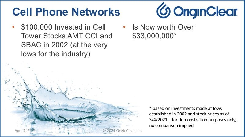 Cell phone networks