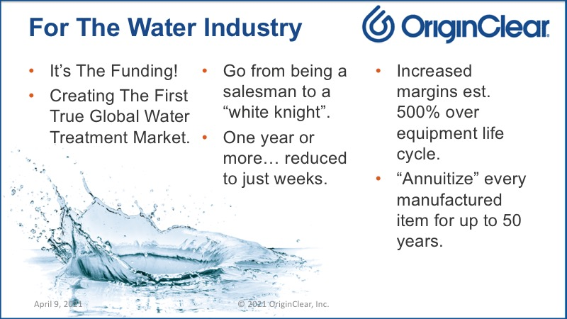 For the Water Industry