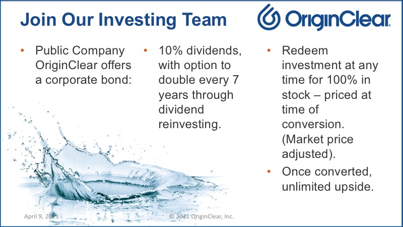 Join our investing team