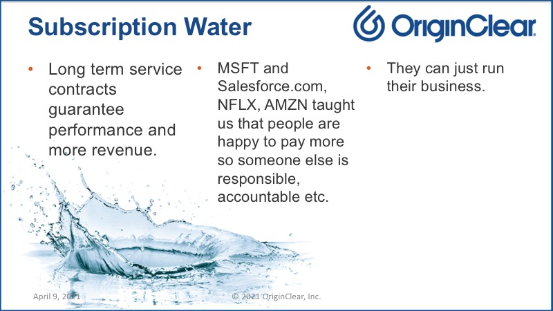 Subscription Water
