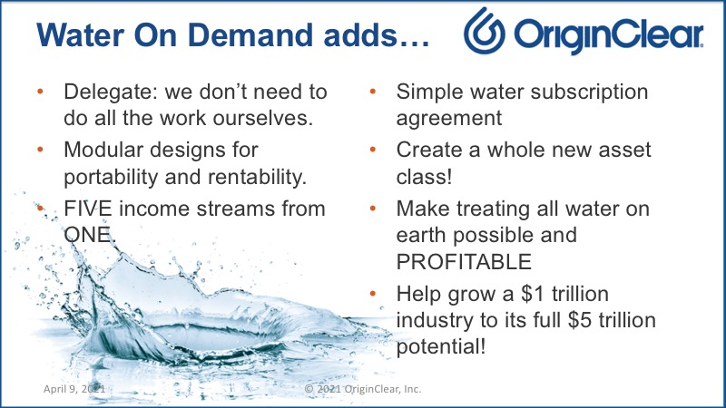 Water on Demand adds