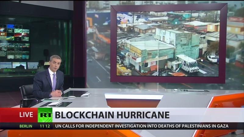 BlockChain hurricane - RTV