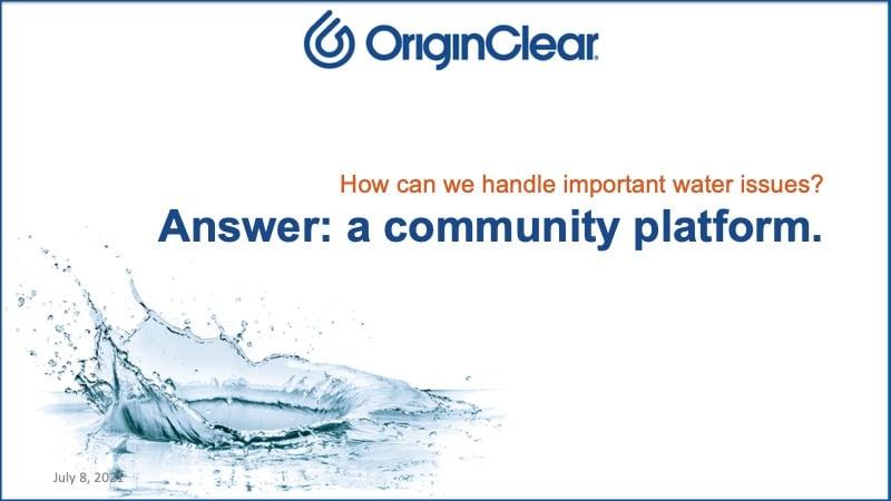 Community platform