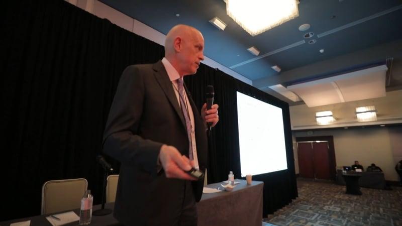 Riggs speaks on WaterChain at Restart Conf in PR
