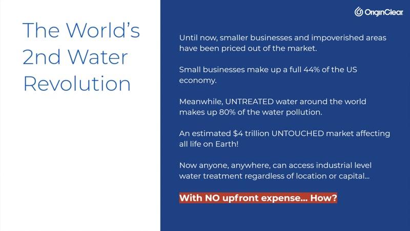 2nd Water Revolution