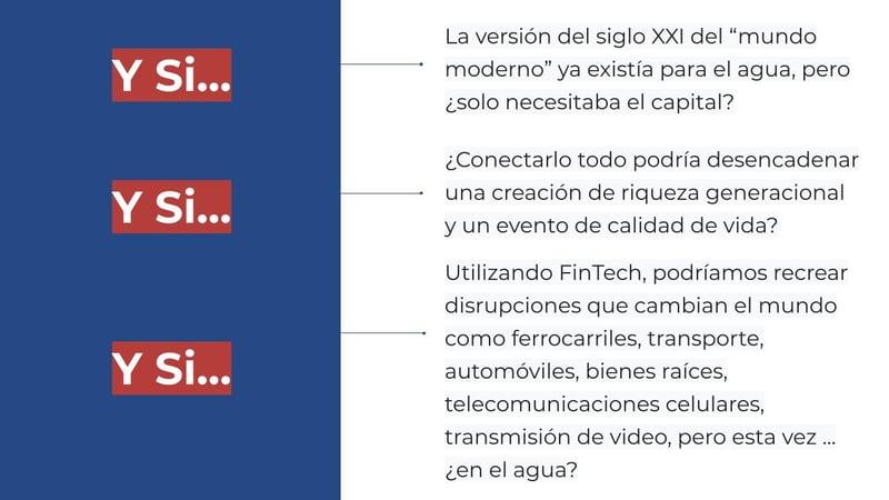 Spanish 15 World Changing Disruption - What if