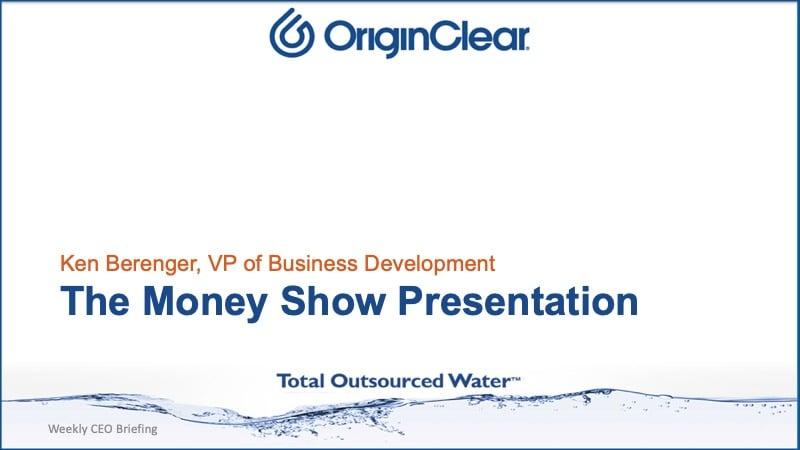 The Money Show Presentation