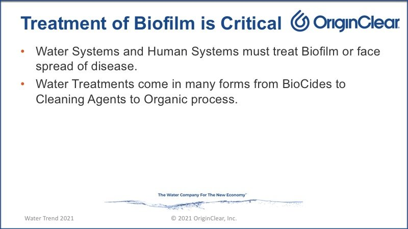 treatment of biofilm is critical