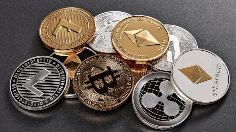 Crypto coins image 2021