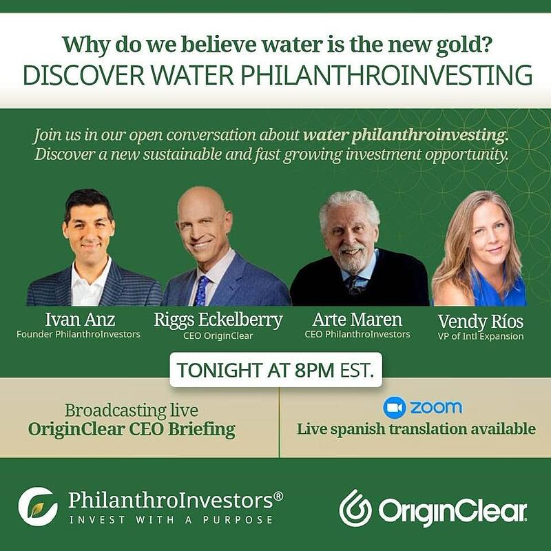 Discover Water Philanthroinvesting