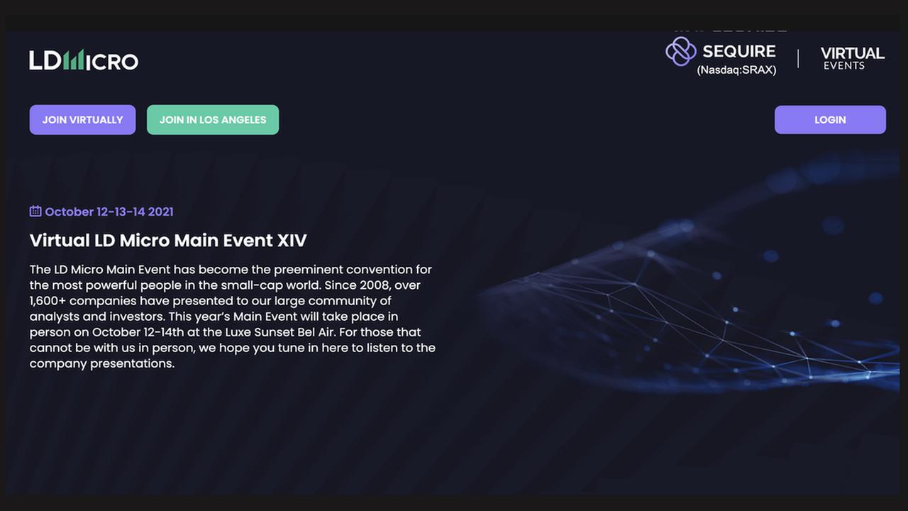 LD Micro Event XIV