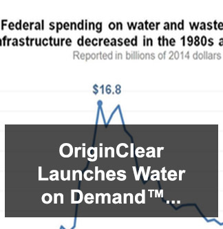 OriginClear Launches Water on Demand