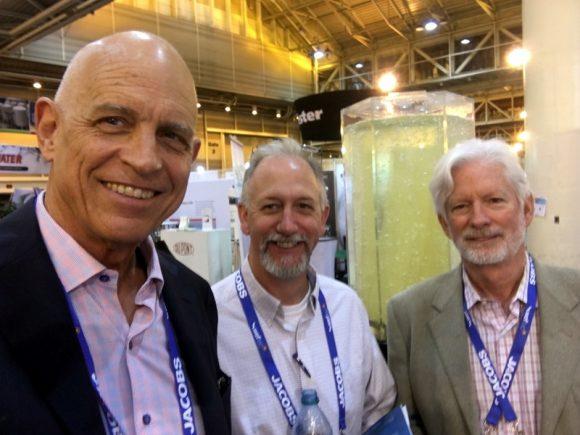 Riggs with Dan & Bill at WEFTEC 2018