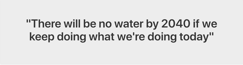 out of water quote