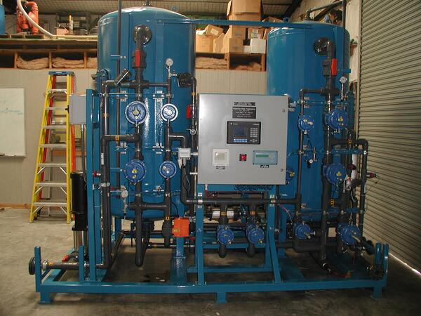 Dual Bed DI Unit for Power Plant
