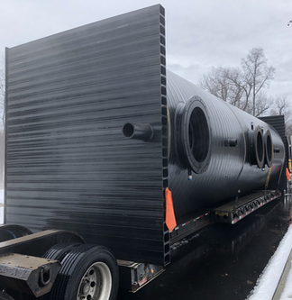 10,000 Gallon Flow EQ Vessel HP-0