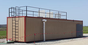 Containerized 5000 GPD Membrane Bioreactor Agriculture System - Industries