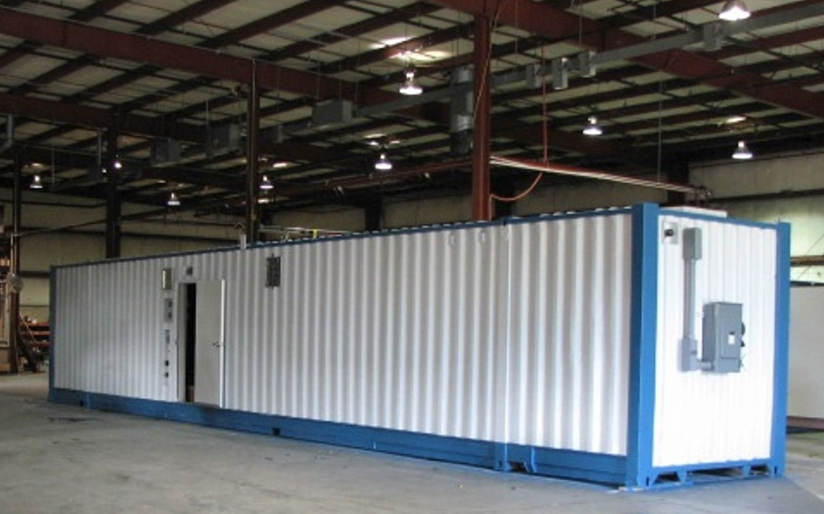 EveraSKID Containerized WWTP-1