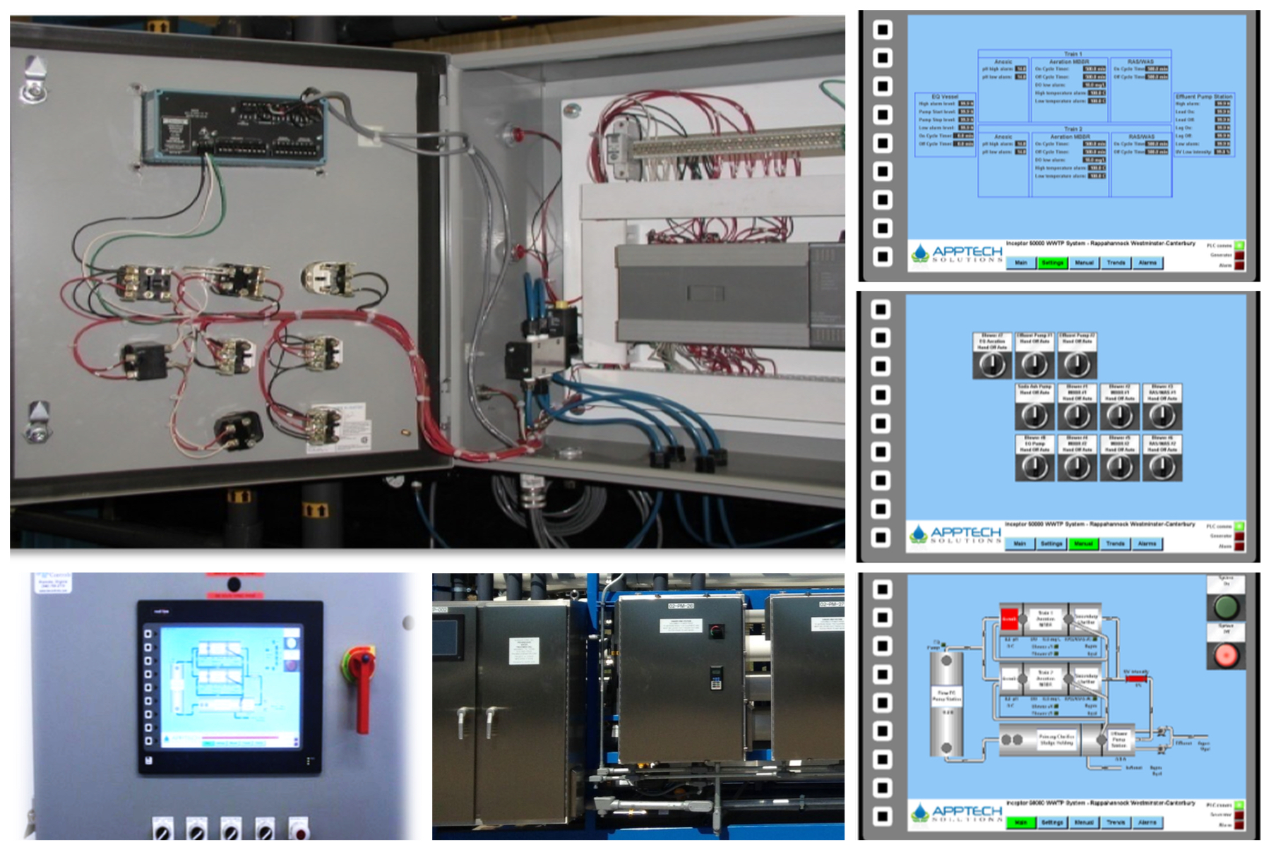 Controls Collage