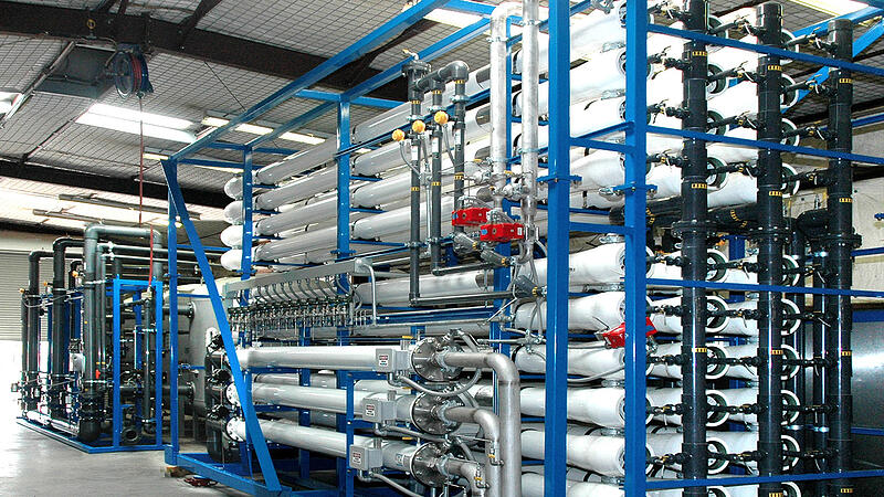 PWT RO System for power plant