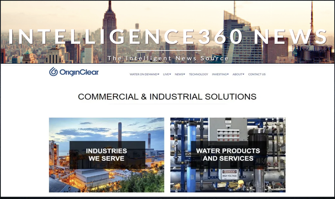Clearwater Florida Based OriginClear is Raising $5,000,000.00 in New Equity Investment