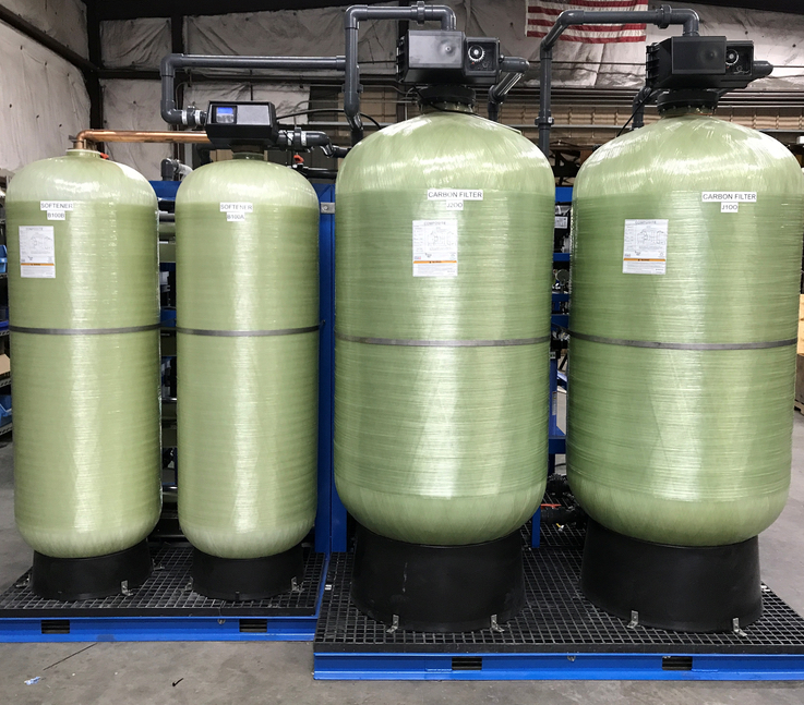 Advanced Water Softener & Carbon Filter Purification System-lr