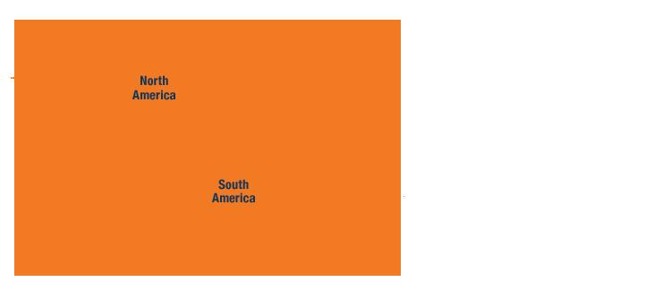 Map - Americas